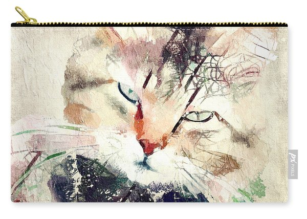 Cat Transparency Carry-all Pouch