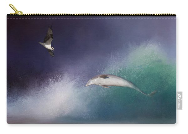 Catch A Wave Carry-all Pouch