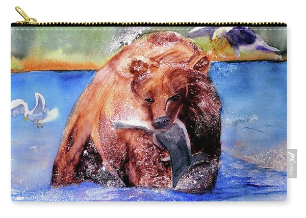Catching Dinner Carry-all Pouch