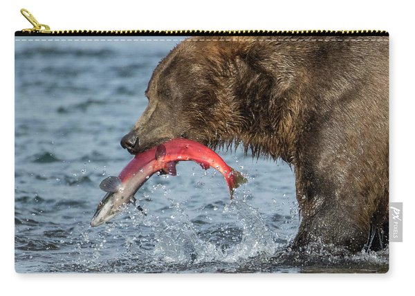 Catching The Prize Carry-all Pouch