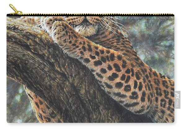 Carry-all Pouch featuring the painting Catching The Sun by Alan M Hunt