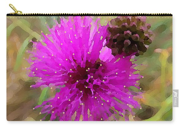 Catclaw Pink Mimosa  Carry-all Pouch