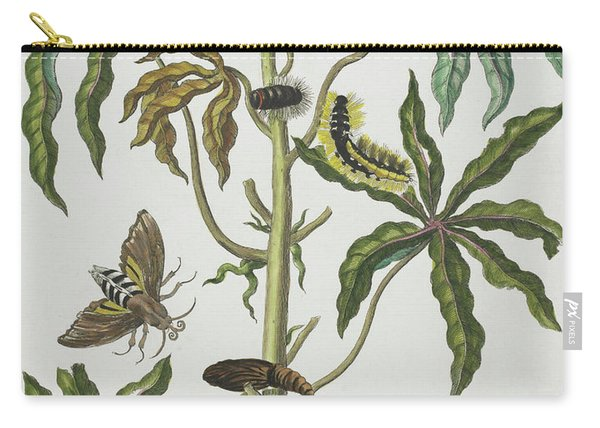 Caterpillars And Insects With Foliage Carry-all Pouch