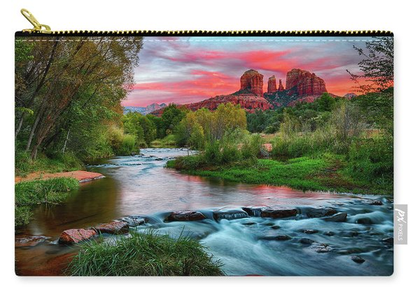 Cathedral At Sunset Carry-all Pouch