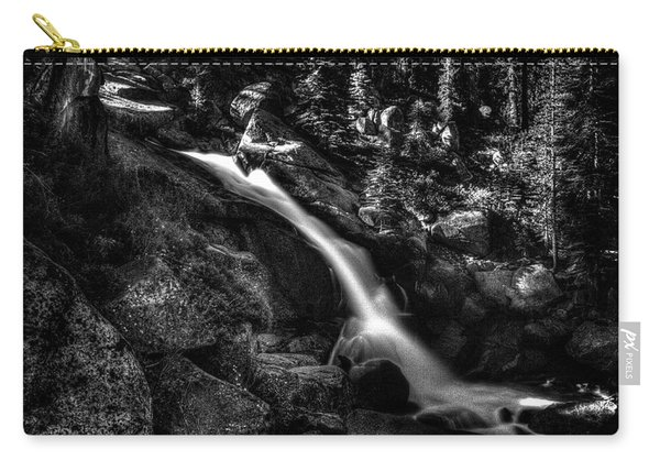 Cathedral Falls From The Tioga Pass Road Carry-all Pouch