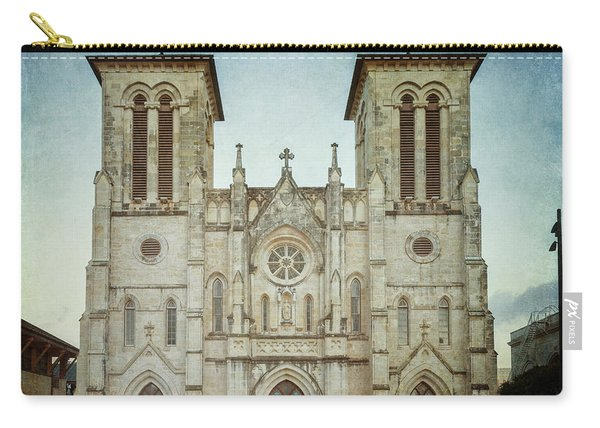 Cathedral Of San Fernando Carry-all Pouch