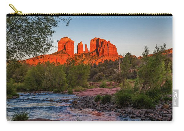 Cathedral Rock At Red Rock Crossing Carry-all Pouch