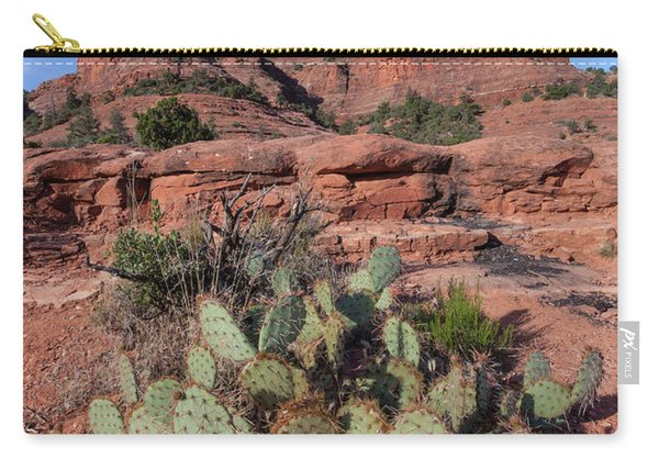 Cathedral Rock Cactus Grove Carry-all Pouch
