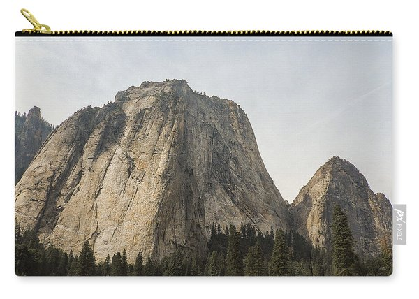 Cathedral Spires Yosemite Valley Yosemite National Park Carry-all Pouch