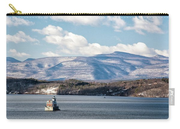 Catskill Mountains With Lighthouse Carry-all Pouch