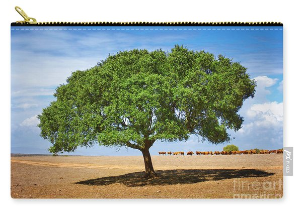 Cattle And Tree Carry-all Pouch