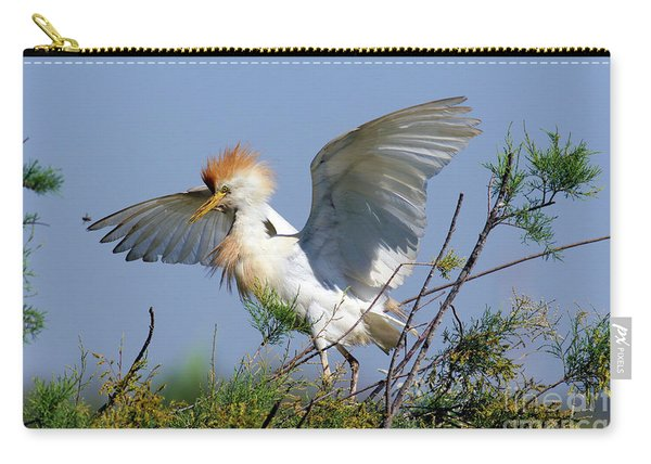 Cattle Egret Bubulcus Ibis Carry-all Pouch