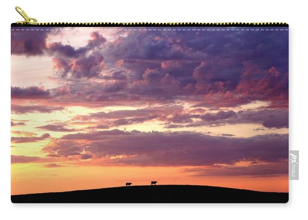 Cattle Ridge Sunset Carry-all Pouch