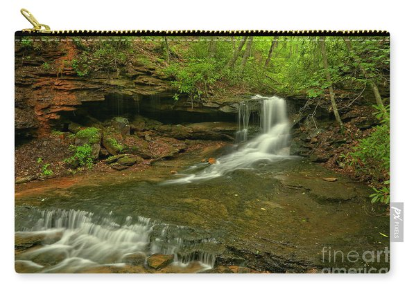 Cave Falls Arial View Carry-all Pouch