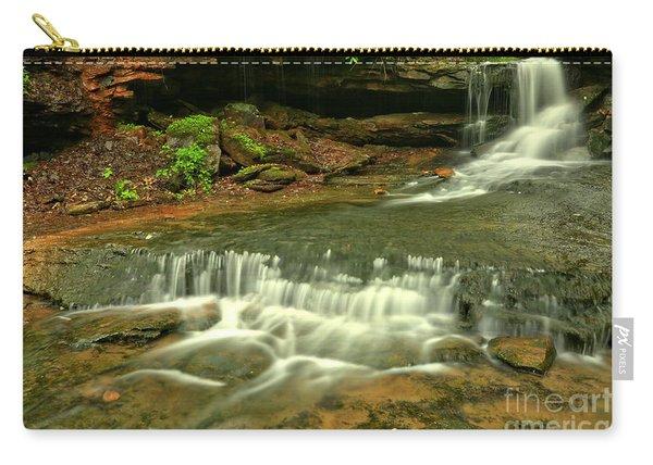 Cave Falls Landscape Carry-all Pouch