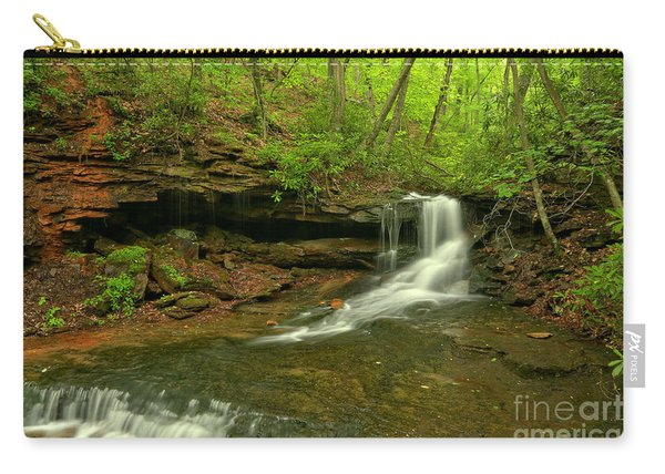 Cave Falls Of Somerset County Carry-all Pouch