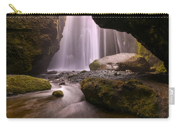Carry-all Pouch featuring the photograph Cavern Of Dreams by Dustin  LeFevre