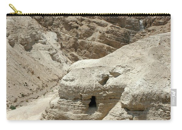 Caves Of The Dead Sea Scrolls Carry-all Pouch