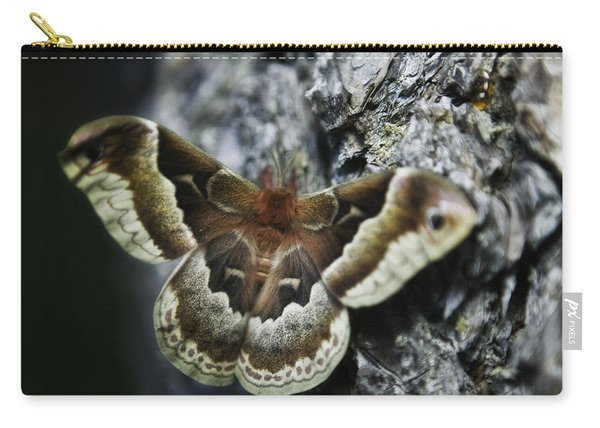 Cecropia Moth Carry-all Pouch