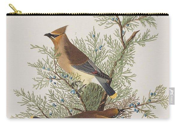 Cedar Bird Carry-all Pouch