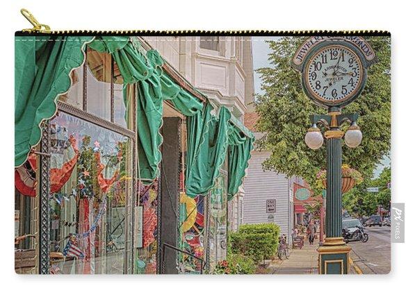 Cedarburg Street Clock Carry-all Pouch