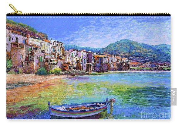Cefalu Sicily Italy Carry-all Pouch