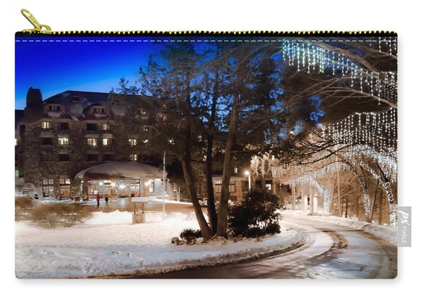 Celebrate The Winter Night Carry-all Pouch