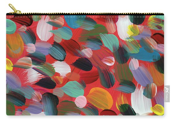 Celebration Day- Art By Linda Woods Carry-all Pouch