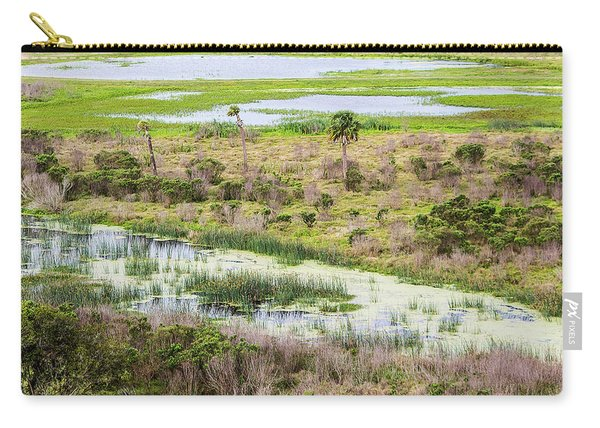Celery Fields View Carry-all Pouch
