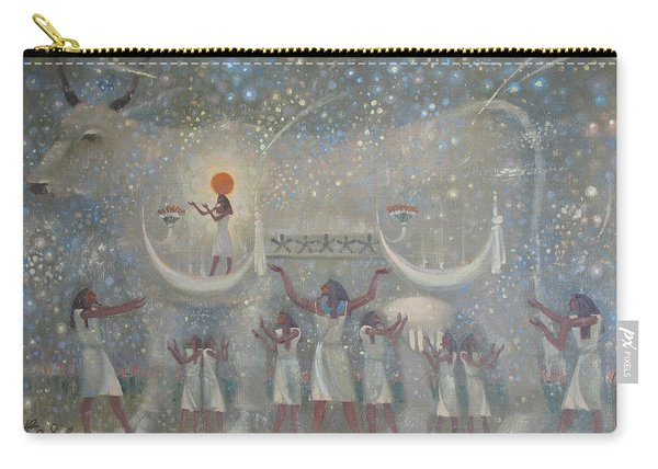 Celestial Cow Carry-all Pouch