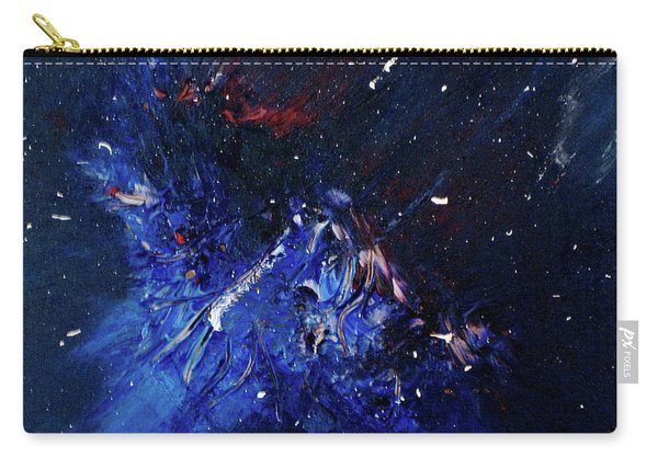 Carry-all Pouch featuring the painting Celestial Harmony by Michael Lucarelli