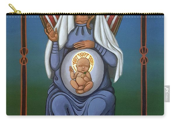 Celtic American Madonna Carry-all Pouch