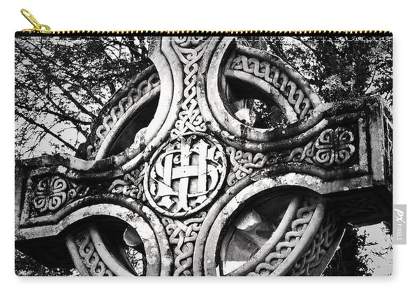 Celtic Cross Detail Killarney Ireland Carry-all Pouch