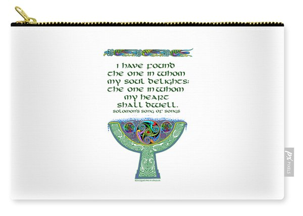 Celtic Wedding Goblet Carry-all Pouch