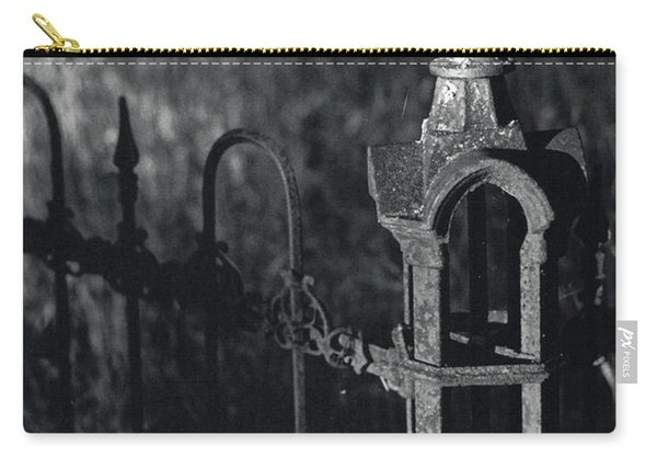 Cemetery  Fence Carry-all Pouch