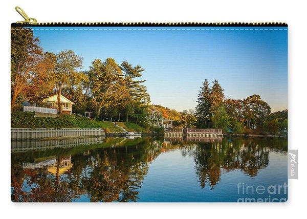 Centerport Harbor Autumn Colors Carry-all Pouch
