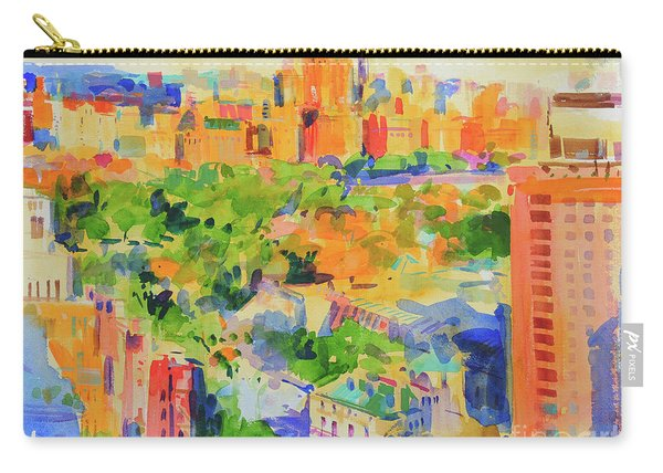 Central Park From The Carlyle Carry-all Pouch