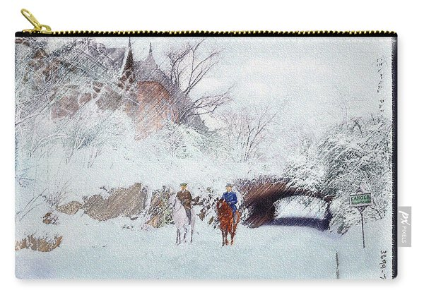 Central Park Snow Carry-all Pouch