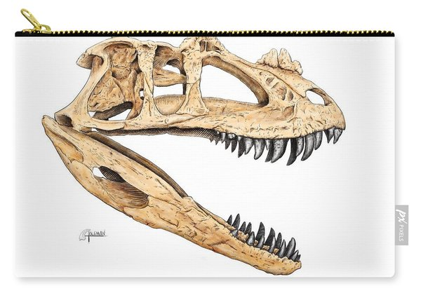Ceratosaur Skull Carry-all Pouch