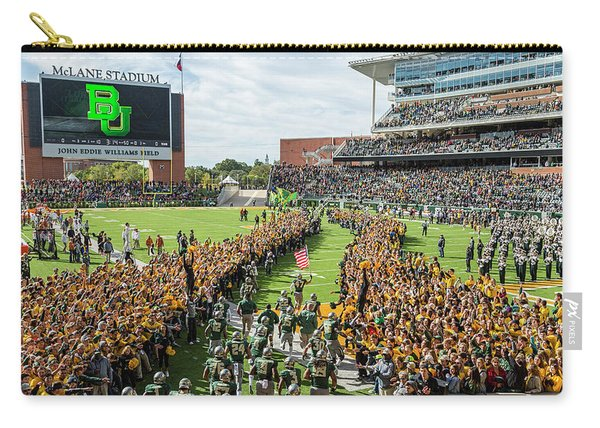Ceremonial Running Of The Baylor Line Carry-all Pouch