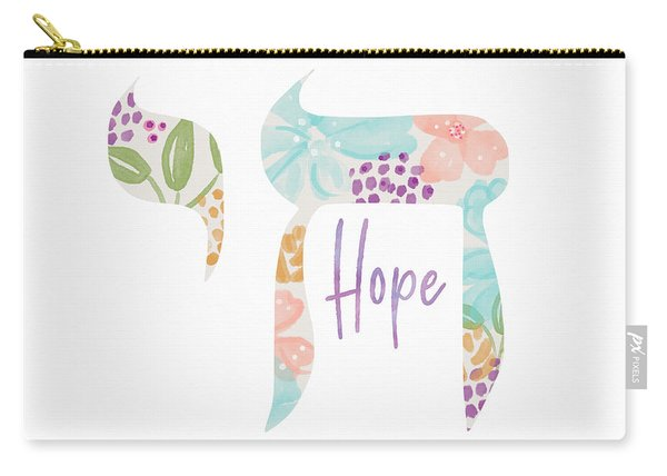 Chai Hope- Art By Linda Woods Carry-all Pouch