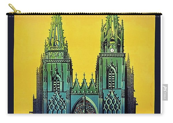 Champagne, Reims, Cathedral, France Carry-all Pouch