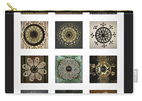 Collection Poster Chandeliers From Russia Carry-all Pouch