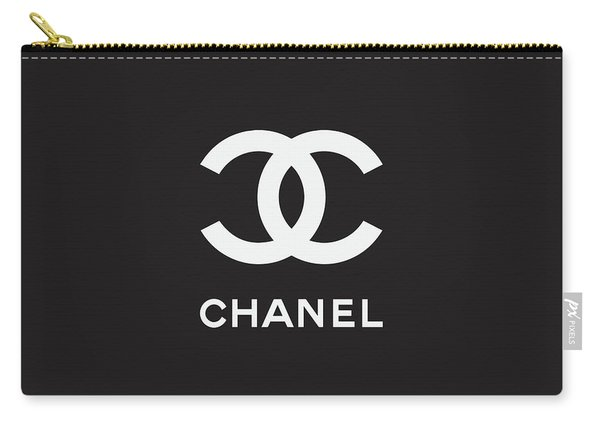 Chanel - Black And White 03 - Lifestyle And Fashion Carry-all Pouch