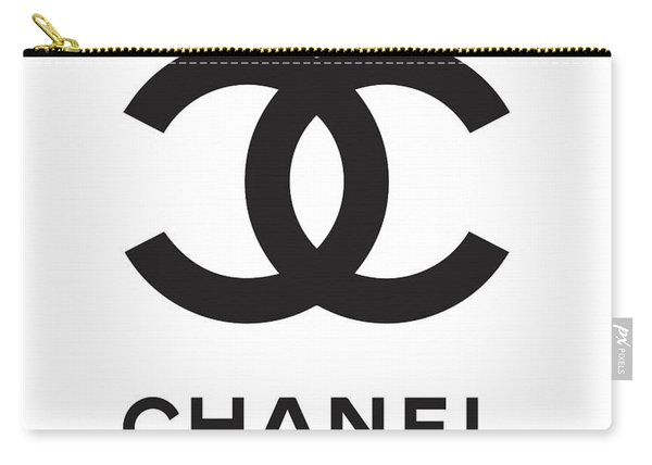 Chanel - Black And White 04 - Lifestyle And Fashion Carry-all Pouch