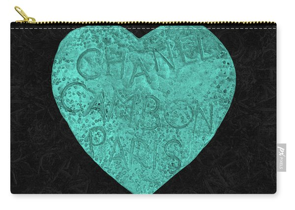 Chanel Heart-4 Carry-all Pouch