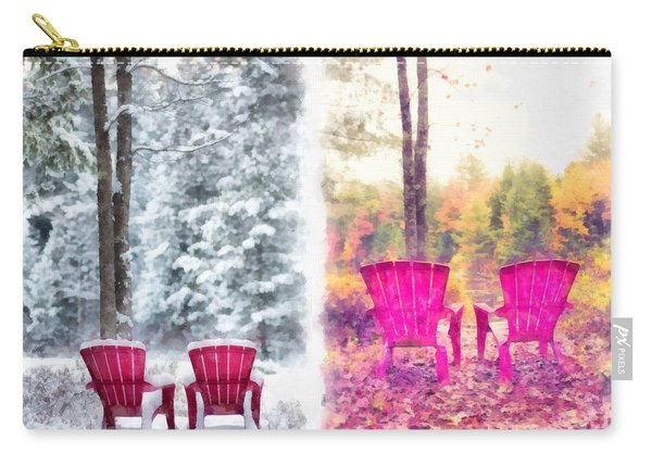 Changing Seasons Anderson Pond Eastman Grantham New Hampshire Carry-all Pouch