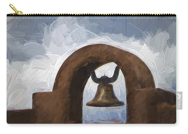 Chapel Bell Chimayo Painterly Effect Carry-all Pouch