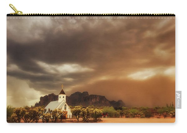 Chapel In The Storm Carry-all Pouch