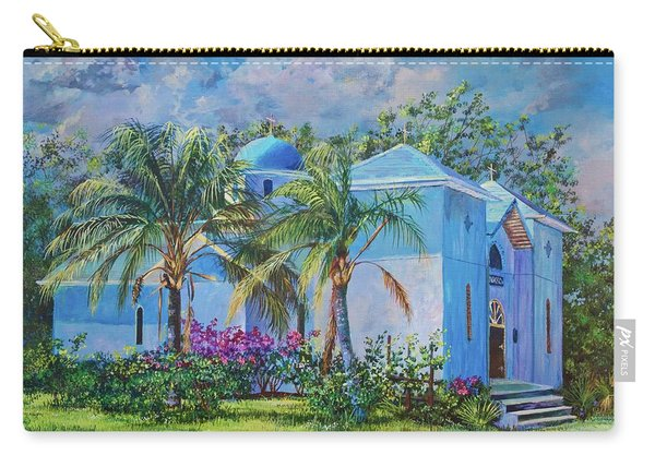 Chapel Of St. Panteleimon Carry-all Pouch